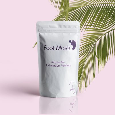 Foot Mask Exfoliation Peeling - Spa til føttene dine